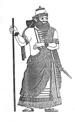 Fashion history: The costume of Assyria and Babylonia ...